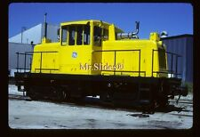 Original Slide General Electric Fresh Paint GE45T At GE Cleveland In 1989