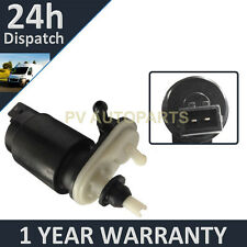 FOR VAUXHALL OPEL ASTRA H MK5 2004- FRONT & REAR TWO OUTLET WINDOW WASHER PUMP