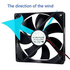 DC 12V 120mm Computer PC Case 4 Pin IDE Silent Cool Cooler Cooling Fan 1800RPM