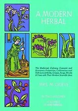 A Modern Herbal (Volume 2, I-Z and Indexes) by Grieve, Margaret
