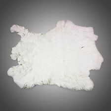 Springfield Leather White Large Genuine Rabbit Fur Pelt Craft Grade Rabbit Skin