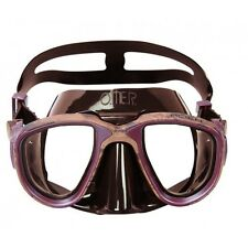 ~ ~ ~ OMER Mask - Alien Brown Mimetic - Scuba Dive Mask / Freediving mask  ~ ~ ~