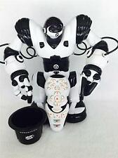 WOWWEE Large Robosapien Humanoid Robot and Remote Control and Bucket - GUC