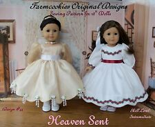 SEWING PATTERN for American Girl Doll by Farmcookies / HEAVEN SENT