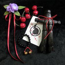 Hell Girl Jigoku Shoujo Ai Enma Bell Bracelet Scarecrow Cosplay Prop Free Card