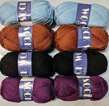 80% Superwash Wool 20% Nylon֍ 8 balls (400 gram / 14 oz) ֍ knitting yarn