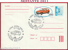 ITALIA FDC MAGYAR POST COSTRUZIONI AUTO FIAT UNO 1985 ANNULLO TORINO T442