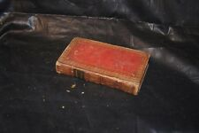 Works of Dr. Benjamin Franklin Rare Book 1819 leather