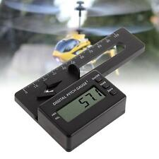 Best  Digital Pitch Gauge LCD Display Blades Degree Angle for RC Helicopter  KJ