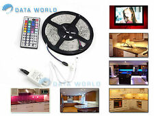 5M SMD RGB 5050 NON Waterproof LED Strip light 300 & 44 Key Remote