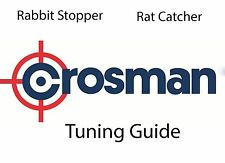 Crosman Rabbit stopper Rat catcher TUNING GUIDE DVD tuning Targets