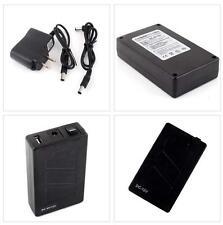 Superior 12V DC USB 5V Rechargeable Li-ion Battery 4 CCTV Camera Safety SY UK