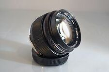 RARE! OLYMPUS G. ZUIKO OM 55mm f 1.2 LENS. BEAUTIFUL LENS IN GREAT CONDITION.
