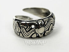 Silver Viking Ring - Borre Art -- Norse/Norway/Medieval/Jewelry/Ragnar/8/9/10/11