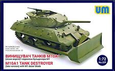 UM-MT Models 1/72 American M10A1 TANK DESTROYER with DOZER BLADE