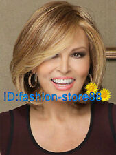 Raquel Welch Brown Curly Hair Wigs Fashion Short Women's Wig + Wig cap A123