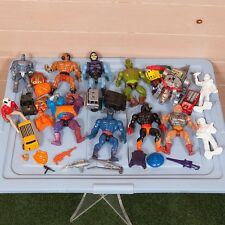 Vintage 80s/90s Action Figure Toy Lot He-Man, Transformers, Weapons, and More...