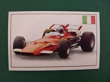 N°251 FERRARI F1 312 ITALIE ITALIA 1970 PANINI 1972 HISTOIRE DE L'AUTOMOBILE