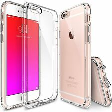 Ringke Fusion Dust Cap Hard Slim Clear Cover for Apple iPhone 6 6s plus Case