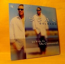 Cardsleeve Single CD Issac Delgado La Vida Es Un Carnaval 2TR 2001 Latin Pop