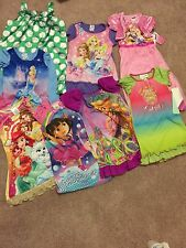 Lot Of Girls Pajamas(nightgowns)-size 4t/4