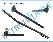 Brand New 4pc Front Suspension Tie Rod Set Ford Excursion F-250 F-350  2WD