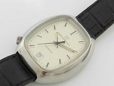 GIRARD PERREGAUX 100% GENUINE VINTAGE NEW OLD STOCK S STEEL WATCH QUARTZ 42 MM