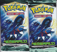 Pokemon Booster Packs (2), Esmeralda ex