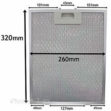 Metal Mesh filter For PHILIPS WHIRLPOOL Cooker Hood Vent Fan 320 x 260mm
