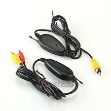 2.4GHZ RCA Video Wireless Transmitter & Receiver for Car Rearview Camera Monitor