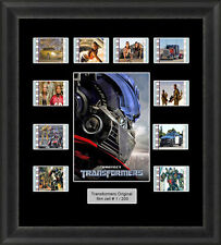 TRANSFORMERS FRAMED FILM CELL MEMORABILIA AUTOBOTS