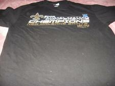 NFL New Orlean Saints Football 2009 Conference Champions  Adult Large T-Shirt