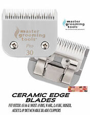 MGT CERAMIC Edge Pet Grooming 30 Blade*Fit Oster A5/A6,MOST Andis,Wahl Clipper