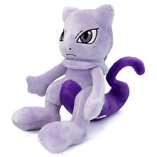 "Pokemon - MEWTWO 10"" Plush New (Pocket Monsters) Mew Two Stuffed Plushie"