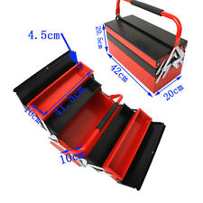 Heavy Duty Metal Cantilever Tool Box Tool Storage 3 Tier 5 Tray Toolbox Workshop