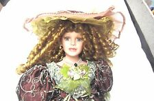 """Duck House Heirloom DOLL Limited edition 245/5000 VICTORIAN Collection 22"""" Hat++"""