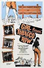 Girl From Tobacco Row Poster 01 Metal Sign A4 12x8 Aluminium