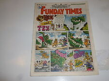 THE FUNDAY TIMES - No 40 - Date 10/06/1990 - Free Sunday Times Comic Supplement