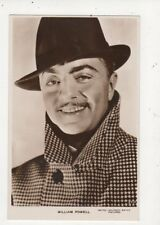 William Powell Vintage RP Postcard Actor 572a
