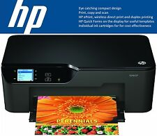 HP Deskjet 3520 e-All-in-One inalámbrica Wifi Impresora Fotográfica Color ESCANEAR COPIAR + Tintas