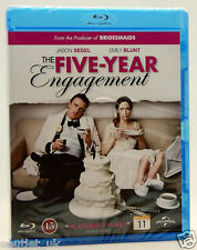 Los Cinco Year Engagement Blu-ray Región B Romántica Com Jason Segel