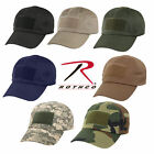 New Military Style Tac Ops Tactical Baseball Style Cap w/ Front Velcro Patch