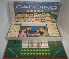 1969 Cardino Card Tile Strategy Board Game by Milton Bradley