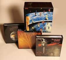 Van Der Graaf Generator - 9 Mini LP CD Japan 2005 + 4 Promo-Boxes RARE OOP VDGG!