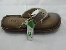 Crevo Monterey II (Men's) Biege  Sandals Flip Flops Thongs 10M
