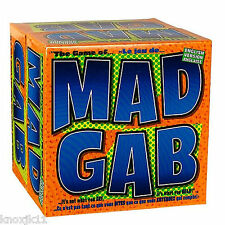MAD GAB Board GAME Ages 10 to Adult 100% Complete Party Fun What You Hear EUC!
