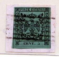 35/ 63 - Stemma cent. 5 senza punto (N. 1) su piccolo f