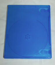 (1) ONE PS4 Translucent BLUE Replacement Empty Game Case NEW!