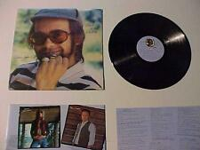 Old Rock Music Record Album~ELTON JOHN w/Orig Insert~ Vintage Vinyl Disc LP 1975