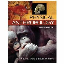 Physical Anthropology by Philip L. Stein (U.S. Paperback) FREE SHIPPING - NEW